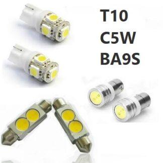 T10 C5W BA9S LED